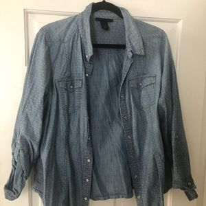 Land Bryant denim shirt.